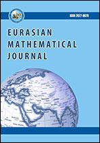 Eurasian Mathematical Journal