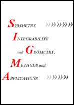 Symmetry, Integrability and Geometry: Methods and Applications